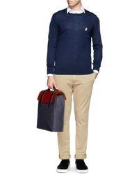 Seventy Eight Percent - Esteban' Leather Denim Backpack - Lyst