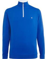 Peter Millar - Perth Tech-jersey Half-zip Golf Top - Lyst