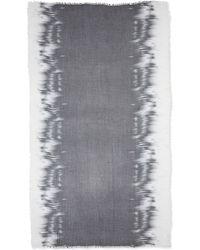 Eileen Fisher Modal Spray & Streak Scarf - Lyst