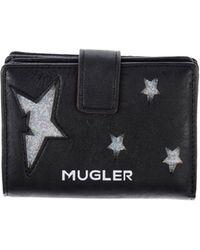 Mugler Wallet - Lyst