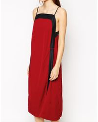 See By Chloé Color Block Midi Dress - Lyst