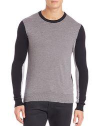 Michael Kors | Colorblocked Crewneck Sweater | Lyst