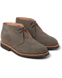 Mark McNairy New Amsterdam Suede Desert Boots - Lyst