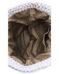 Derek Lam - Knit Handbag - Pale Grey Melange - Lyst