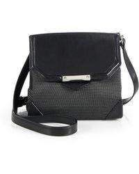 Alexander Wang Prisma Marion Neoprene Leather Crossbody Bag - Lyst