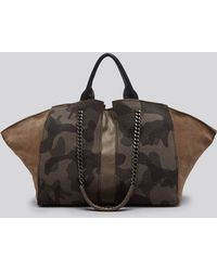 Ramy Brook - Satchel - Brook Camo - Lyst