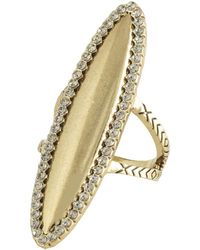 House Of Harlow Geodesic Cocktail Ring - Lyst