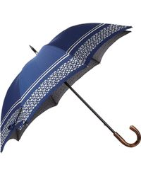 Barneys New York Fish & Stripe Stick Umbrella - Lyst