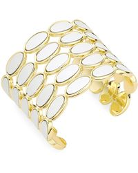 House of Harlow 1960 Leather Cuff Bracelet