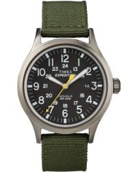 Timex - Men's Expedition Scout Green Nylon Strap 40mm T49961um - Lyst