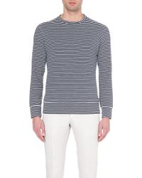 Slowear Long-Sleeved Striped Top - For Men - Lyst