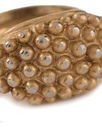 Yves Saint Laurent Vintage Embossed Ring - Lyst