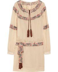 Skaist Taylor - Sydney Beaded Cottongauze Dress - Lyst
