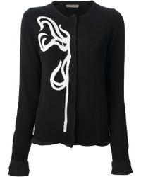 Bottega Veneta Knitted Cardigan - Lyst