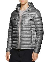 Moncler Douret Quilted Down Jacket gray - Lyst
