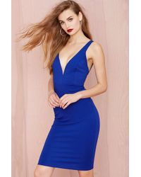 Nasty Gal Run Deep Dress - Lyst