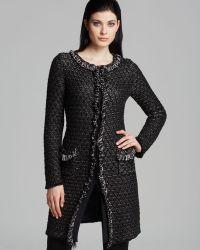 Armani Coat - Textured - Lyst
