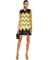 Alexander Wang Shoe Lace Embroidery Poly Dress - Lyst
