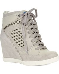 French Connection - Marla Wedge Trainers - Lyst