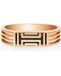Tory Burch For Fitbit Metal Hinged Bracelet - Lyst