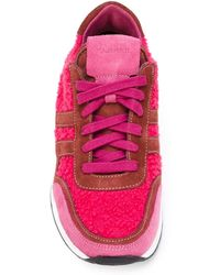 P.A.R.O.S.H. - Panelled Lace-up Sneakers - Lyst