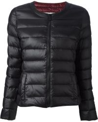 Pinko Black Padded Jacket - Lyst
