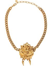 Ela Stone - Lion Nala Necklace - Lyst