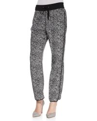 Marc By Marc Jacobs - Karoo Printed Silk Track Pants - Lyst