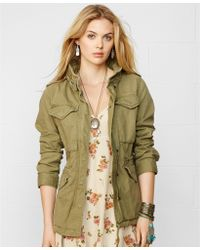 Denim & Supply Ralph Lauren Herringbone Field Jacket - Lyst