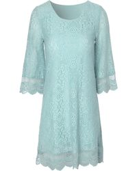 Jane Norman 34 Sleeve Crochet Shift Dress - Lyst