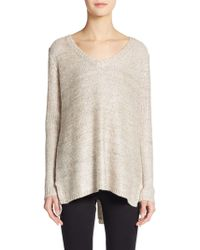 5/48 Sequined Knit Sweater - Lyst