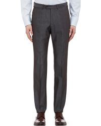 Armani S Line Trousers - Lyst