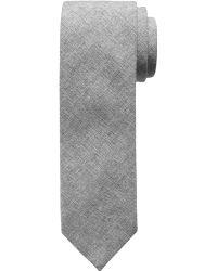 Banana Republic Textured Linen-Blend Tie - Lyst