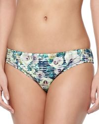 Nanette Lepore Hula Hibiscusprint Swim Bottom - Lyst