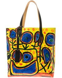 Marni - Christophe Joubert 2 Pvc And Leather Tote - Lyst