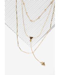 Nasty Gal | Shard Shooter Arrow Necklace | Lyst