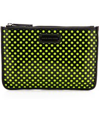 Marc By Marc Jacobs Techno Mesh Mini Tablet Pouch - Black Multi - Lyst