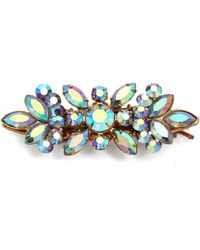 Dauphines of New York - Touch Of Glamour Hairclip - Lyst
