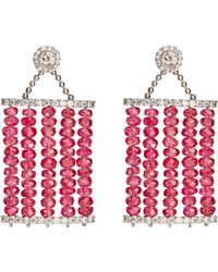 Sharon Khazzam - Carol Drop Earrings - Lyst