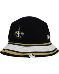 '47 Brand New Orleans Saints Bucket Hat - Black