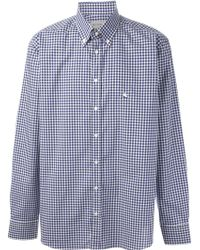 Etro Gingham Check Shirt - Lyst