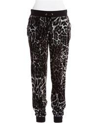 MICHAEL Michael Kors Velour Lounge Pants - Lyst