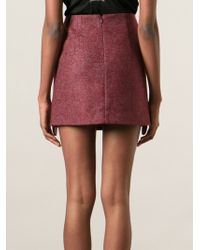 Acne Studios Pink Kyte Skirt - Lyst