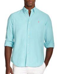 Polo Ralph Lauren Oxford Sportshirt - Lyst