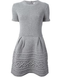 RED Valentino Knitted Dress - Lyst