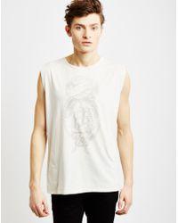 Nudie Jeans | Tank Top White | Lyst
