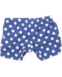 Palmer Trading Company Willy Blue with White Dots Boxer - Lyst