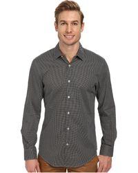 Perry Ellis Long Sleeve Mini Printed Dot Shirt - Lyst