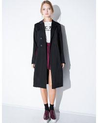 Pixie Market Chic Black Long Blazer Jacket black - Lyst