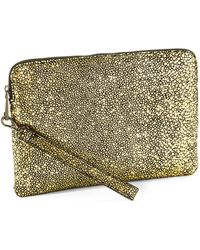 Whiting & Davis Pouch Clutch - Lyst